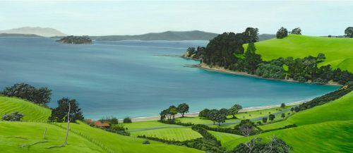 Painting of Scandretts Bay
