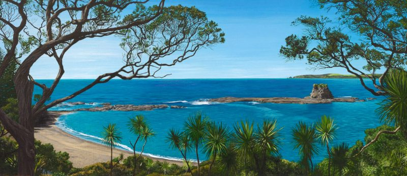 Painting of Matheson Bay