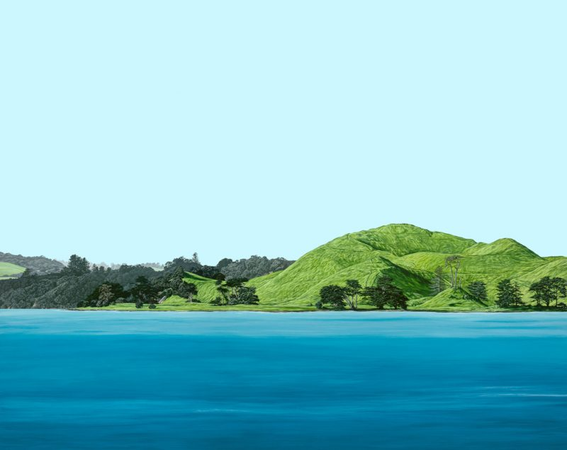 Painting of Browns Island