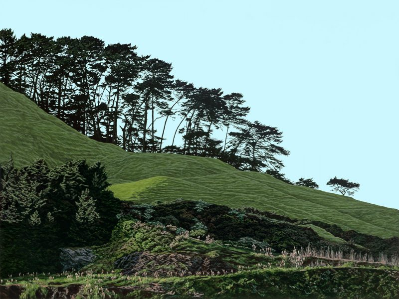 Painting of Mt Wellington