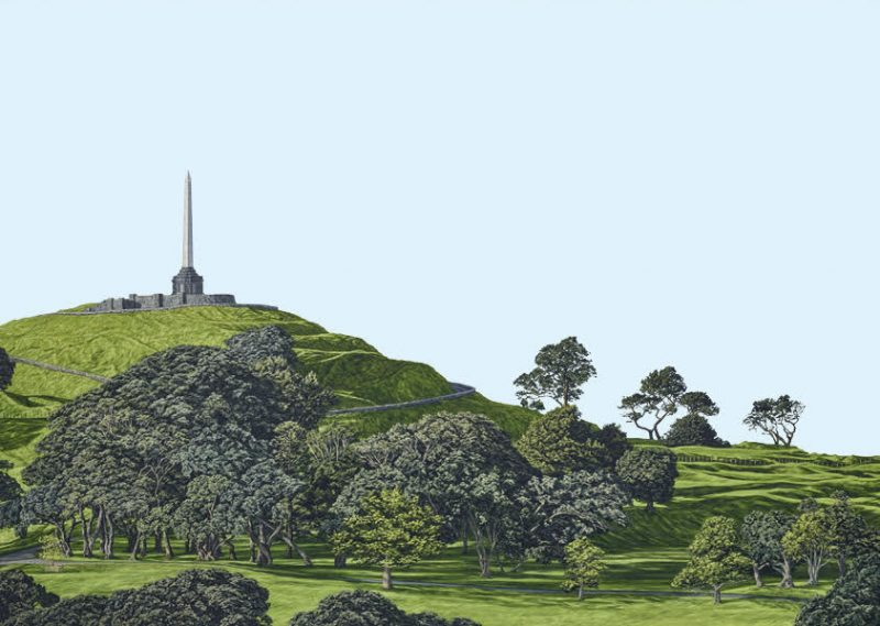 Painting of One Tree Hill