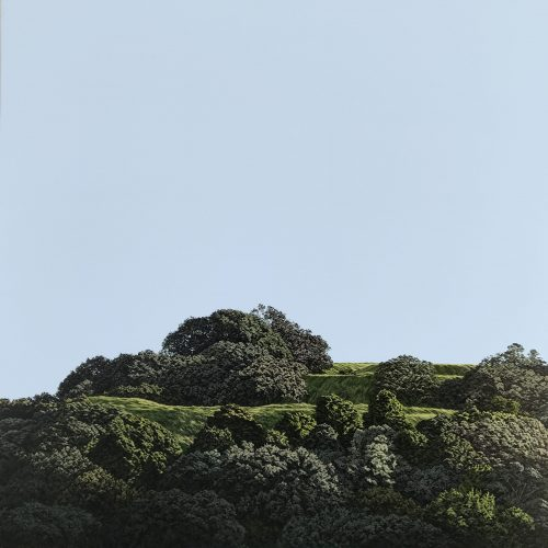 Original painting of Mt Eden