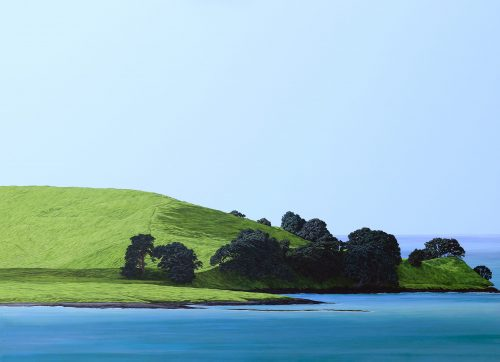 Original painting of Browns Island