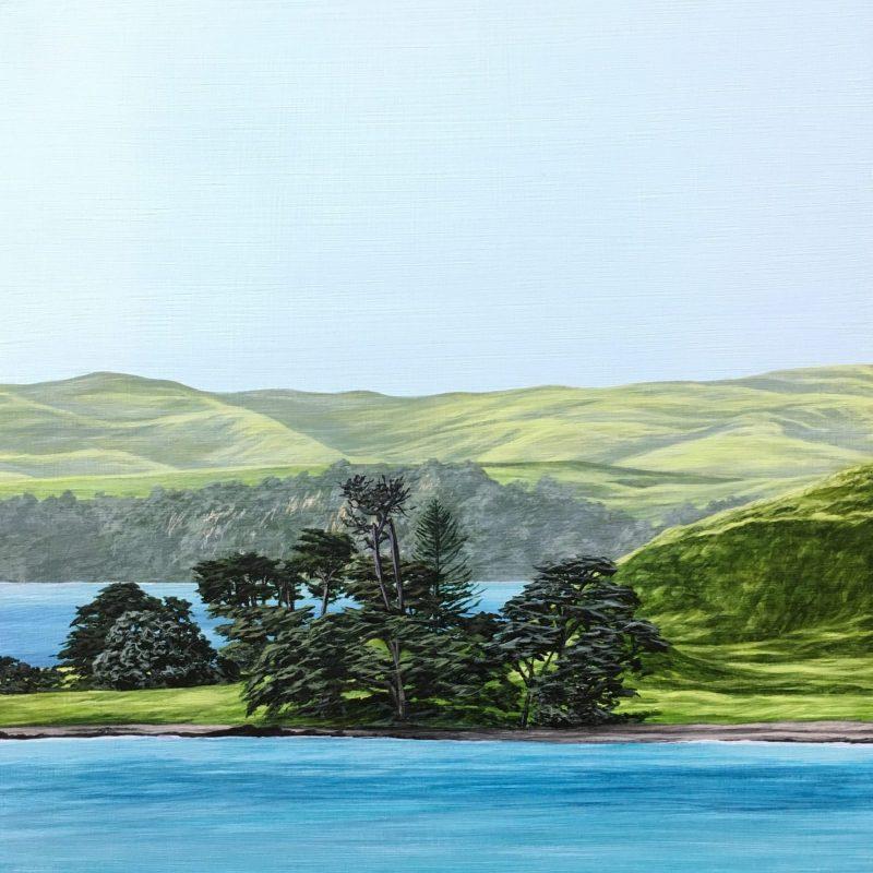 Original painting of Browns Island