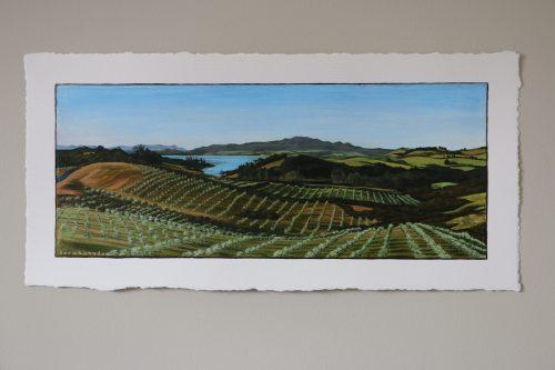 Original painting of Mangonui