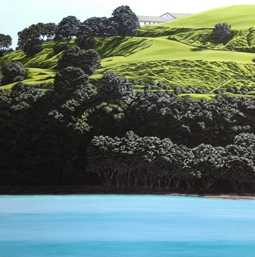 Original painting of North Head