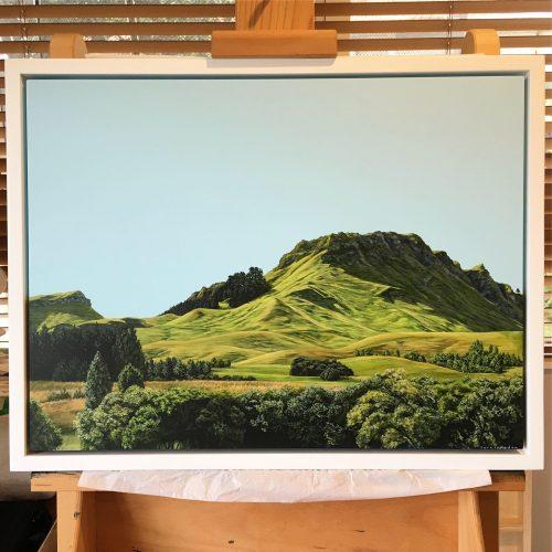 Original painting of Te Mata Peak