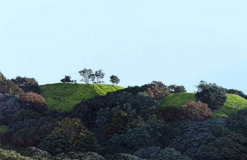 Original Painting of Mt Eden
